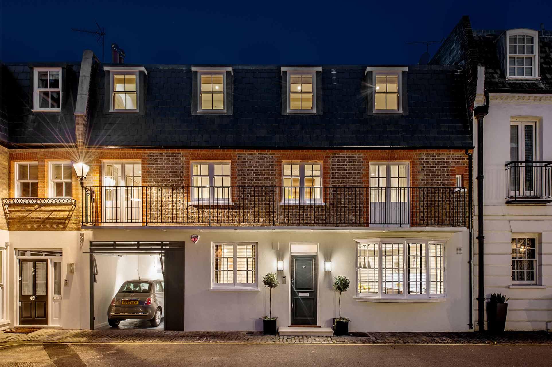 knightsbridge mews house chest row. Black Bedroom Furniture Sets. Home Design Ideas